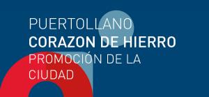 Logotipo de promoción económica de la ciudad de Puertollano. Corazón de Hierro.