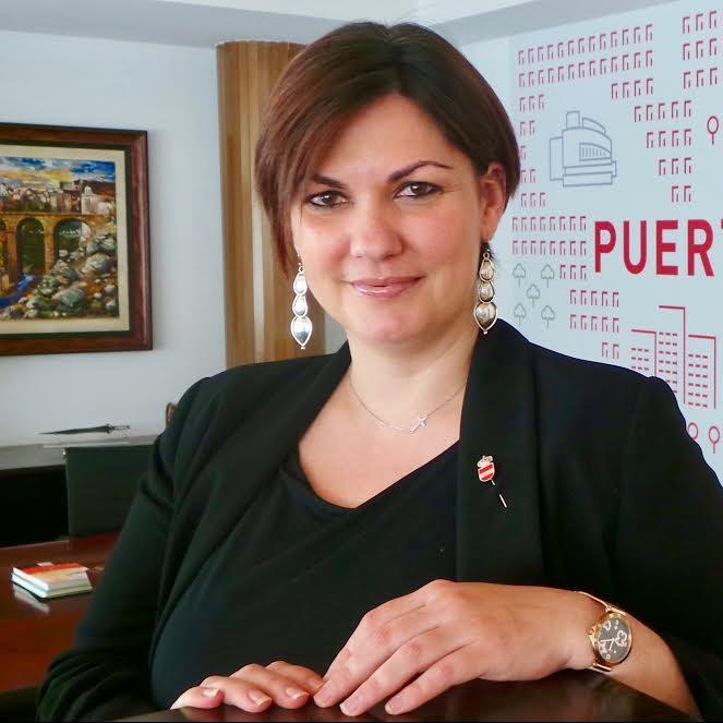 Mayte Fernández, Alcaldesa de Puertollano