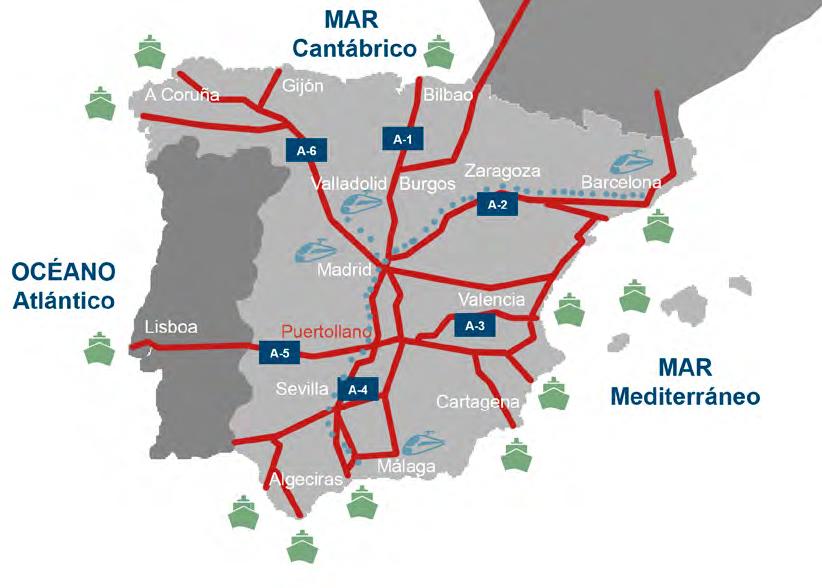 conexiones carretera Puertollano