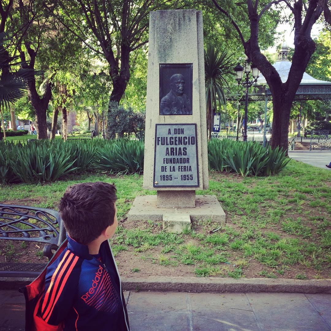 Fulgencio fundador de la Feria de Puertollano.