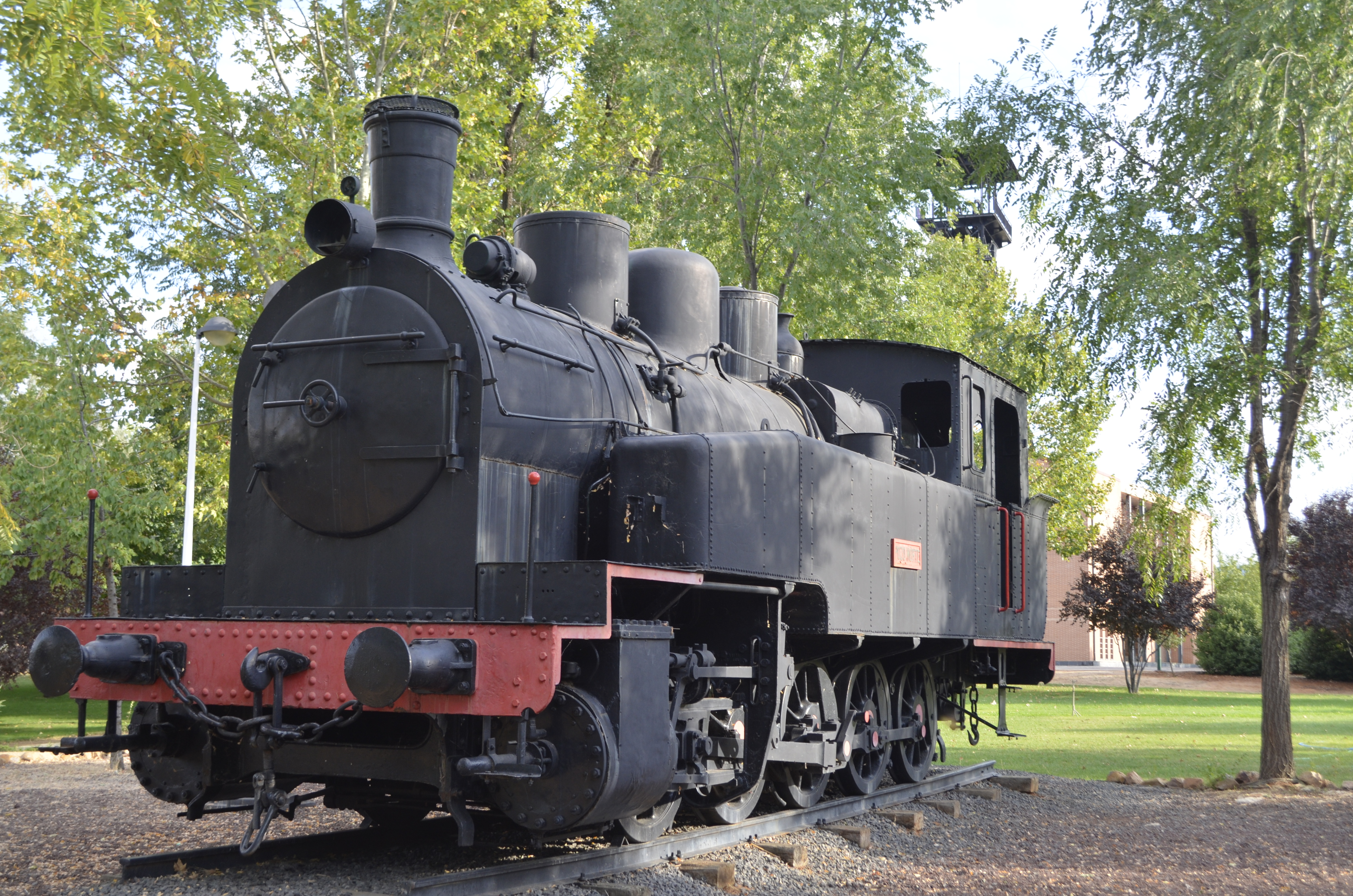 Tren en el Museo de la Minería