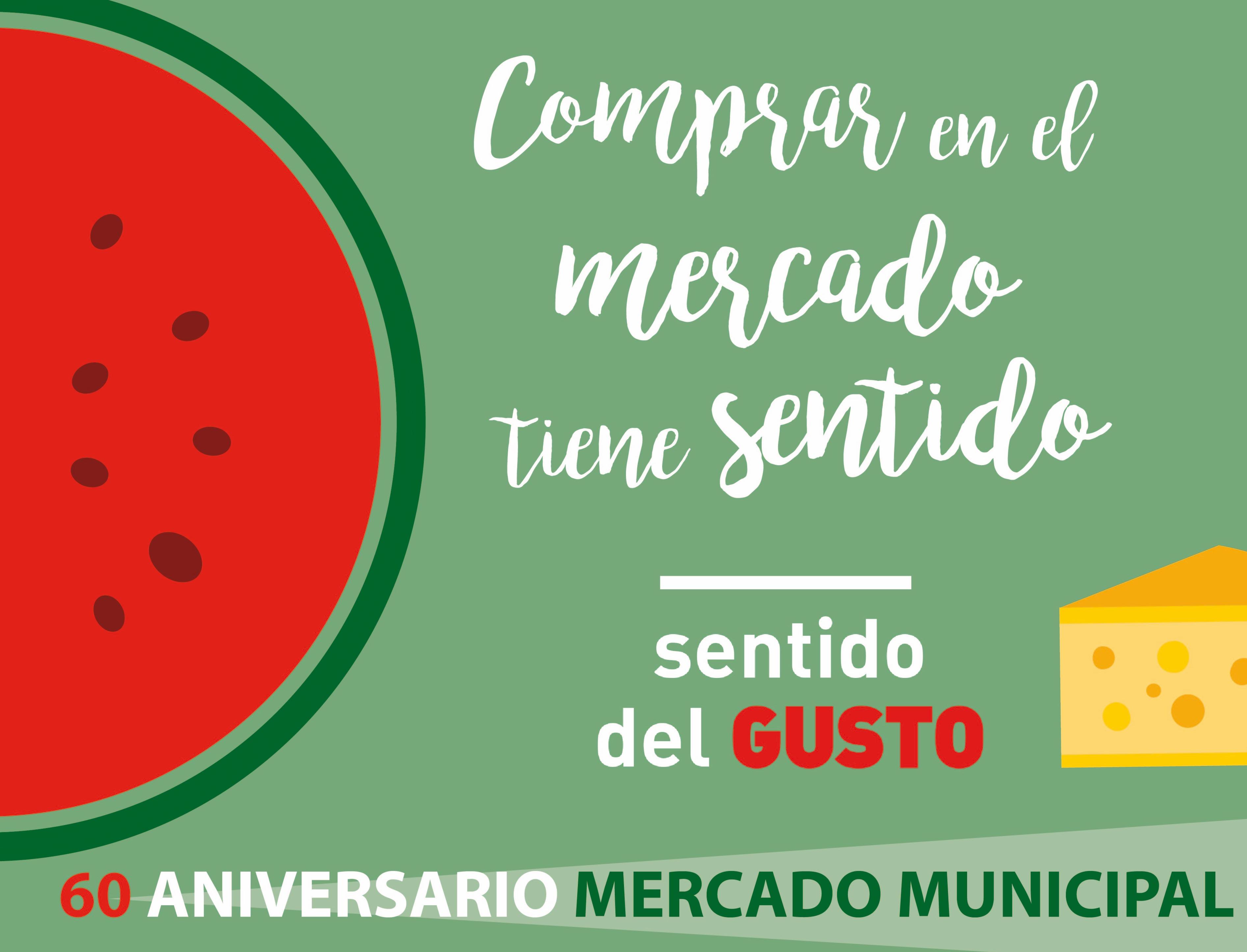 Cartel 60 Aniversario Mercado