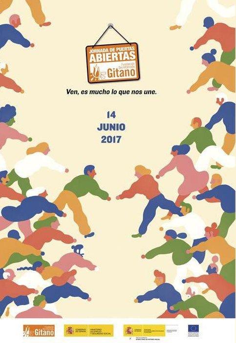 Cartel de Jornada Secretariado Gitano