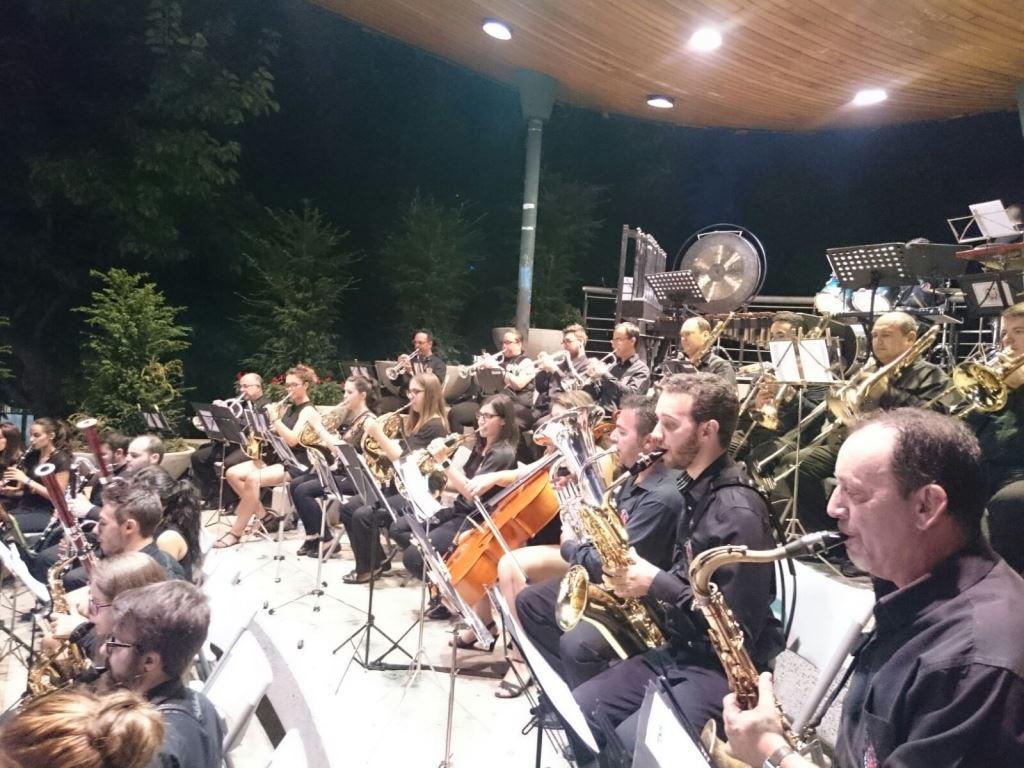 concierto banda de musica Puertollano