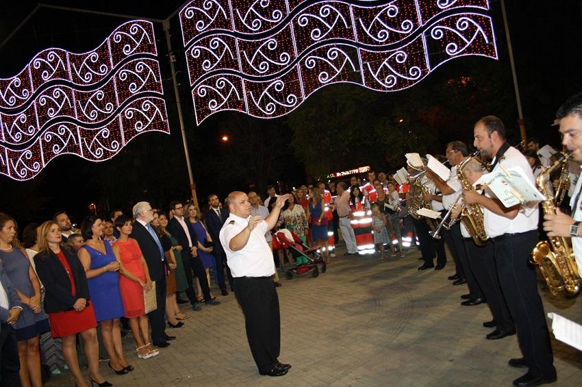 imagen de la inauguración de las Fiestas