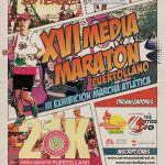 Cartel XVI Media Maratón Ciudad de Puertollano