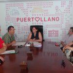 Reunión de la alcaldesa con la nueva directiva de La Benéfica