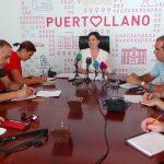 Mayte Fernández en rueda de prensa