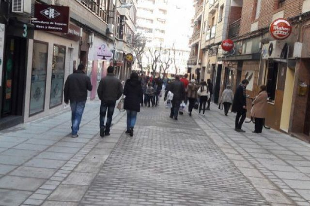 calle Alameda de puertollano peatonal