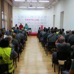 Reunión de los nuevos trabajadores contratados en el Plan Extraordinario por el Empleo