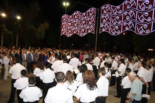 Ana Muñoz ha presentado las fiestas patronales