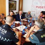 Junta de Seguridad preparatoria de las Fiestas de Septiembre