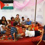 La alcaldesa ha recibido a una decena de niños saharauis