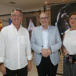 Primera exposición de Ventura Huertas