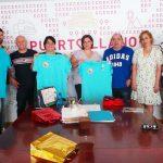 Encuentro de la alcaldesa con el Club en Silla de Ruedas