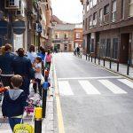 Un camino más seguro en los colegios del centro de la ciudad
