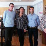 El nuevo director del Conservatorio con la alcaldesa