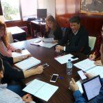Reunión de trabajo EDUSI con técnicos y grupos políticos