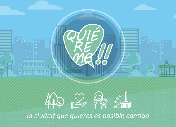 Quiéreme!! Campaña de sensibilización cívica Puertollano
