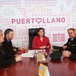 Encuentro de la alcaldesa con el nuevo comisario de la CNP
