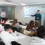 Encuentro de alumnos del Dámaso Alonso con técnicos de Fundescop