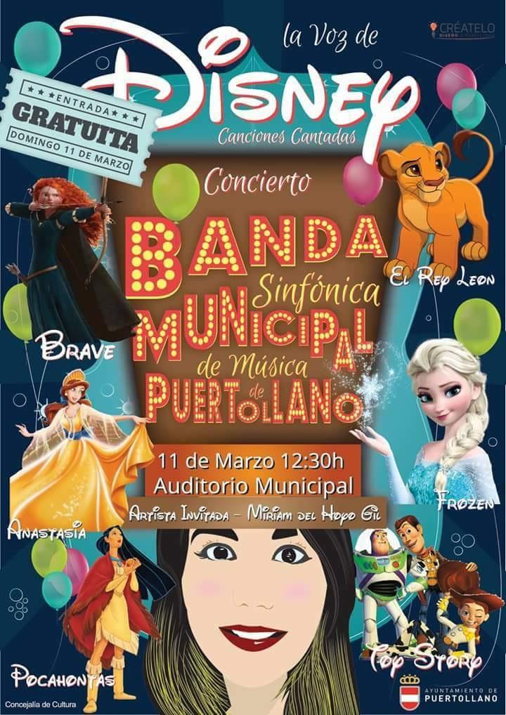 Concierto Disney de la Banda Sinfónica