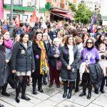 La alcaldesa ha participado en las movilizaciones del día de la mujer