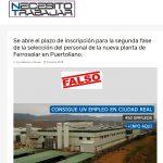 Ferrosolar hará la selección de empleo por el Servicio Público Regional