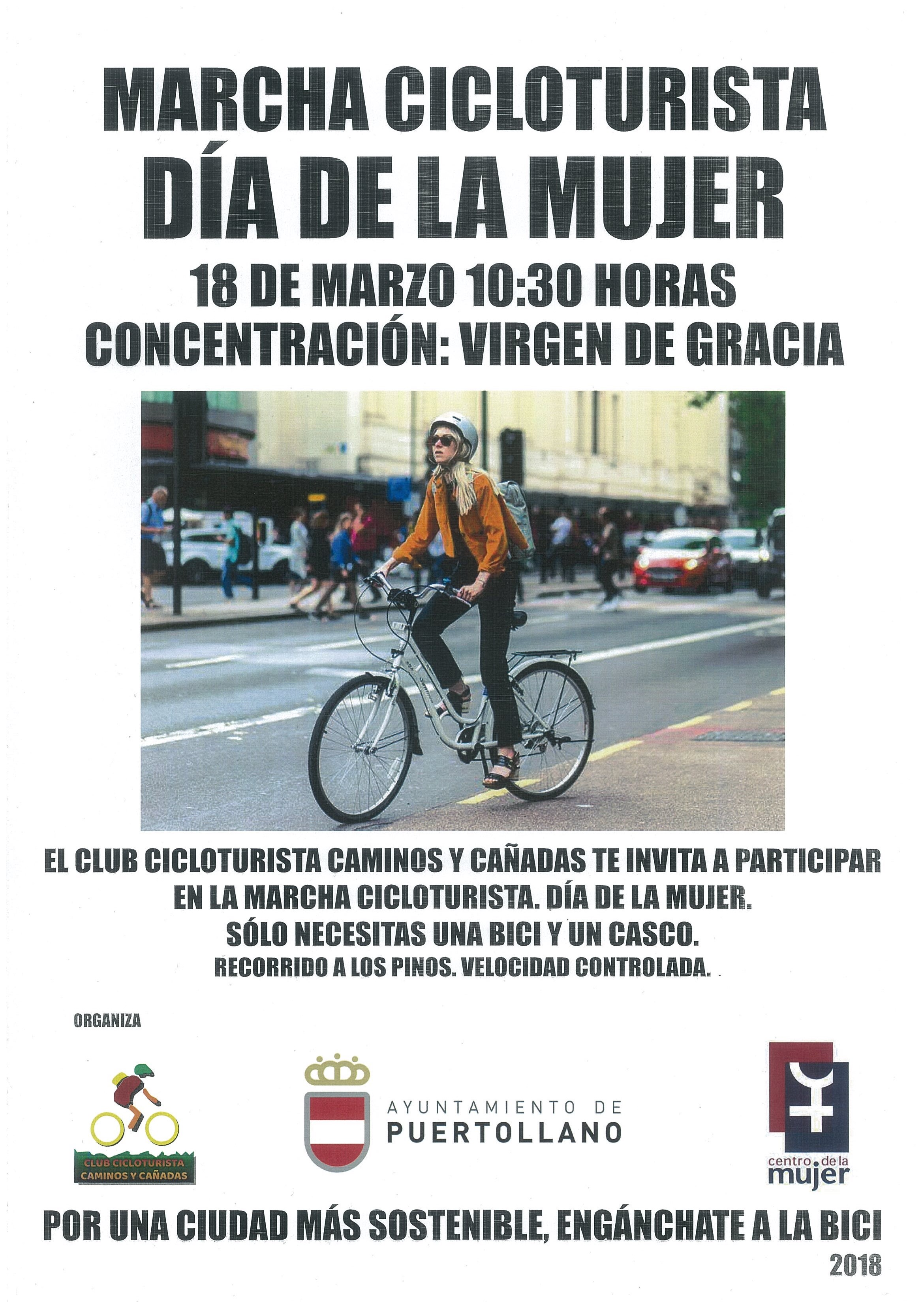 Marcha cicloturista d a de la mujer ayuntamiento de - El tiempo en puertollano por horas ...
