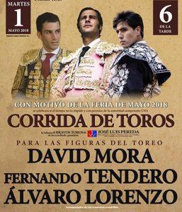 Fernando Tendero entra en el cartel de feria