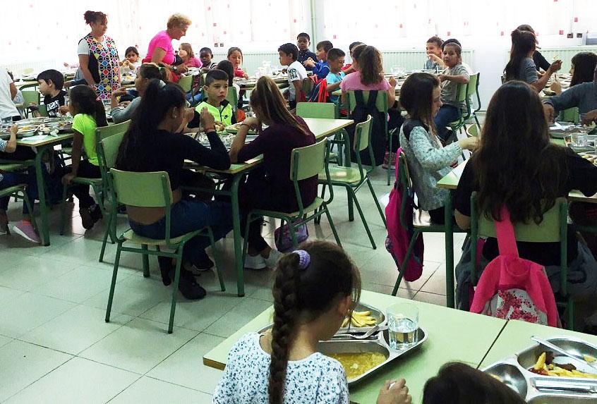 Educación abrirá un cuarto comedor escolar y en breve remitirá el ...