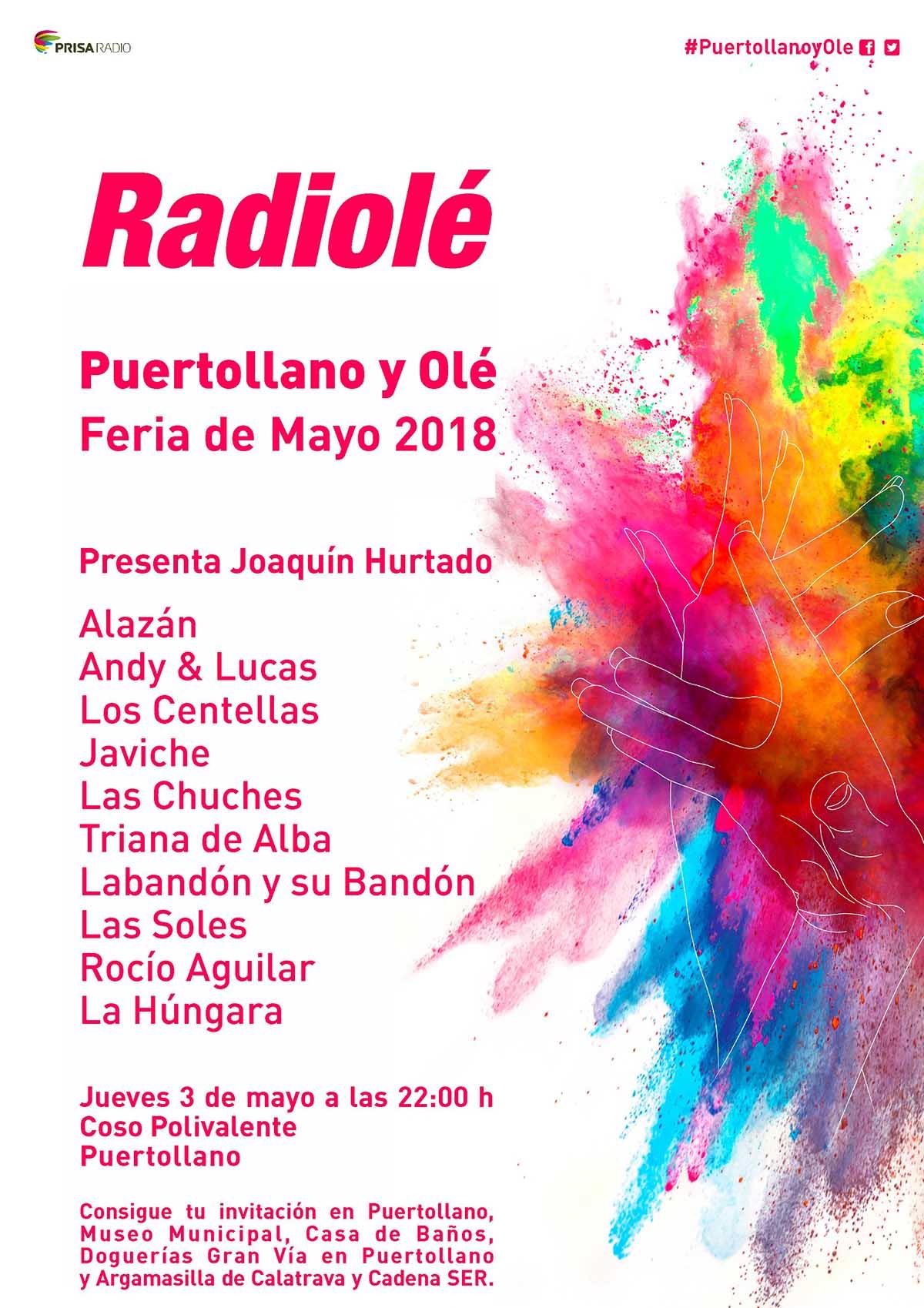Festival Radiolé el 3 de mayo