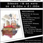 procesión de la Cruz de Mayo el sábado