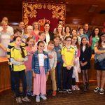 La alcaldesa recibe a los alumnos Erasmus