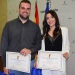 Premiados dos alumnos del IES Virgen de Gracia