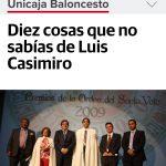 Luis Casimiro nuevo entrenador del Unicaja