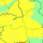 Aviso Amarillo el miércoles por altas temperaturas