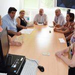 Encuentro de la dirección del Hospital con los vecinos de Puertollano