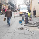 Mejoras en la calle Aduana