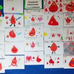 Exposición de dibujos de donantes