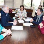Encuentro de la concejal de participación ciudadana con La Benéfica