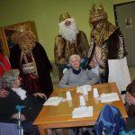 Visita de los Reyes a la Residencia de Mayores