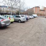 Nuevo aparcamiento en el Hospital
