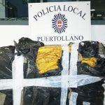 Incautación de tabaco por la Policía Local