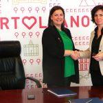Firma de convenio con Repsol