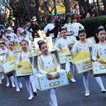 Desfile infantil carnaval