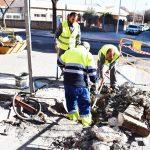 Obras en calle Socuéllamos