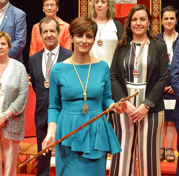 Isabel Rodríguez - Alcaldesa de Puertollano