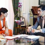 Isabel Rodriguez encuentro en la Diputación
