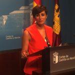 La alcaldesa en las Cortes